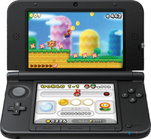 3DS XL, New Super Mario Bros. 2